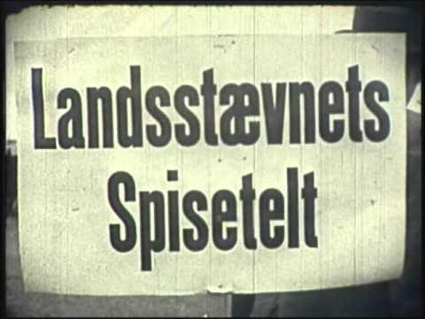 Stævnestart - Landsstævne 1947 i Odense
