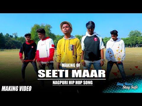 Making Of SEETI MAAR | New Nagpuri Hip Hop Song | Uranium Crew