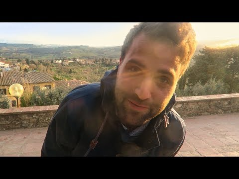 THE DAY MY FATHER DIED - San Gimignano, Tuscany, Travel Vlog