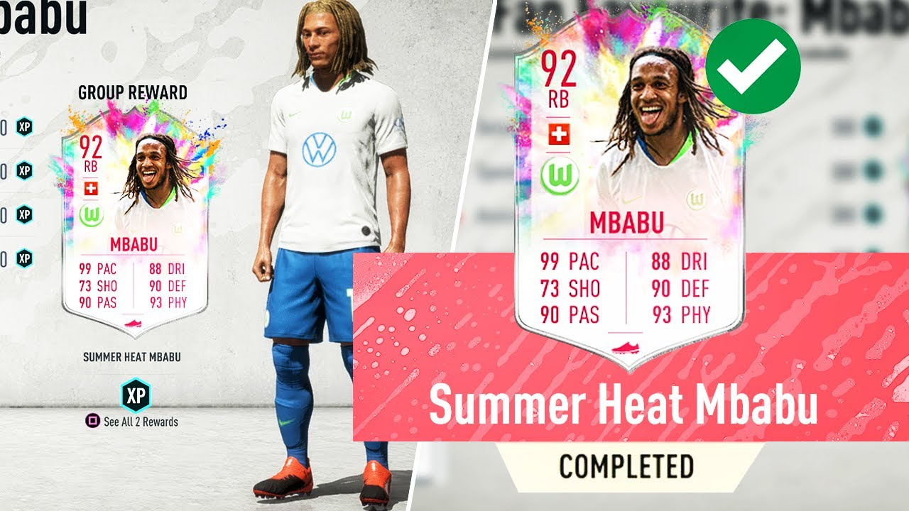 HOW TO GET MBABU SUMMER HEAT GUIDE! FIFA 20