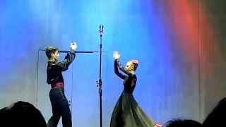 Испанский танец - артисты колледжа Г.П. Вишневской (Дом Музыки)(концерт Александра Бичева