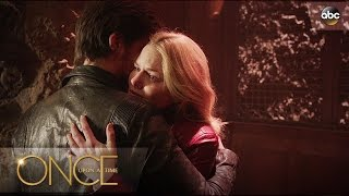 Emma and Hook Say Goodbye - Once Upon A Time
