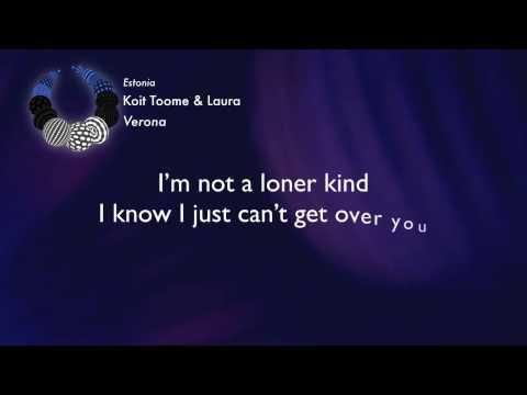 Koit Toome & Laura - Verona (Estonia) [Karaoke Version]