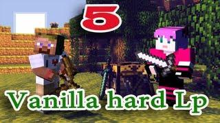 ч.05 Minecraft Vanilla hard Lp - Мы нашли данж