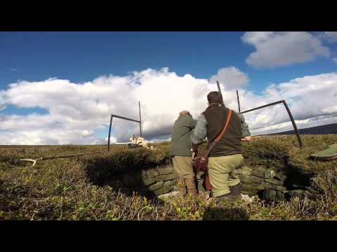 William Powell Jameson Loader Bag in Action - Grouse Shooting 2014