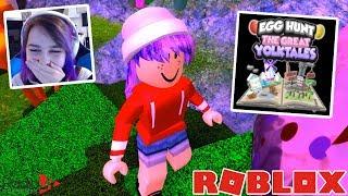 Roblox EGG HUNT The Great YolkTales | RadioJH Games