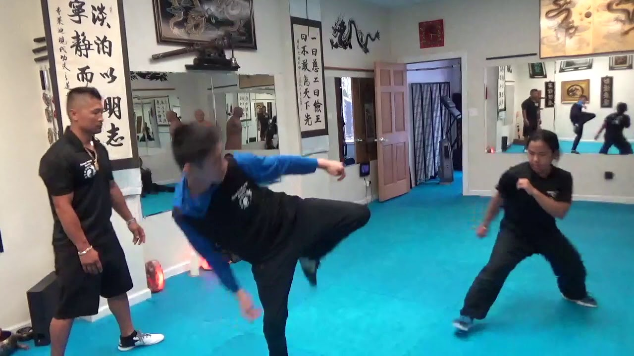 Kung Fu Kids - Martial Arts Sparring - Aug 5 2019