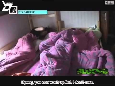 [7ONTHEBLOCK] 110622 MTV Match Up Ep. 1 - Block B (1 of 2)