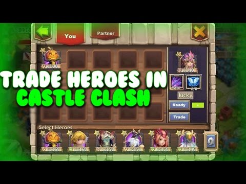 Trade Heroes In Castle Clash In Future Update?