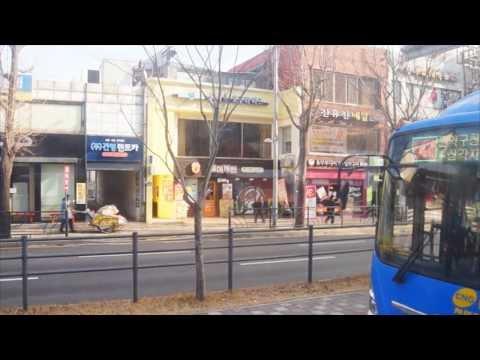 Seoul Metropolitan Bus (Hanseong Passenger Company) Route 100 bus ride