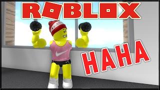 NEJLEPŠÍ POSILOVNA V ROBLOXU!!! - (ROBLOX Fitness Center)