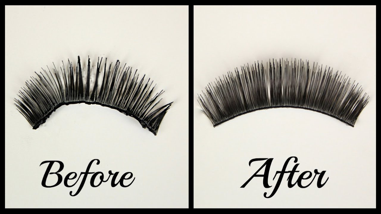 ee86a018583 False Eyelashes | How To: Clean, Store, and Reuse - YouTube