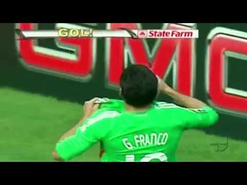 Mexico vs USA - Guillermo Franco Goal [Gold Cup Final 2009]