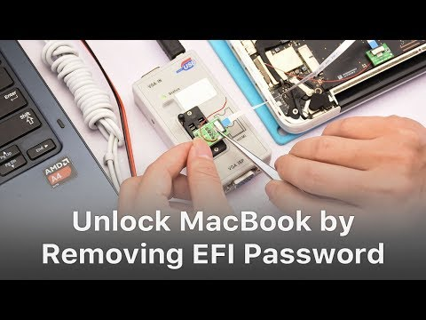 How To Unlock MacBook By Removing EFI Password? - Chapter 2