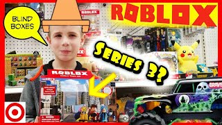 Roblox Toys Haul at Target - Hunting for Series 3 Mystery Blind Boxes / Hot Wheels / Disney Cars
