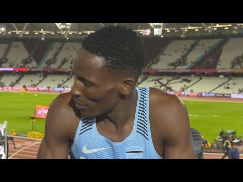 WCH 2017 London- Isaac Makwala BOT 200 Metres final