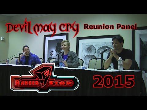 Devil May Cry Reunion Panel  RangerStop 2015  Reuben Langdon, Johnny Yong Bosch, & Dan Southworth