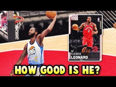 How GOOD Is Pink Diamond Kawhi Leonard ACTUALLY?? | WORTH IT In NBA 2K19 MyTEAM??