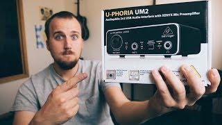 $30 AUDIO INTERFACE | A REVIEW AND DEMO OF THE BEHRINGER U-PHORIA UM2