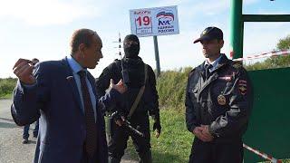 Виталий Наливкин предотвратил теракт