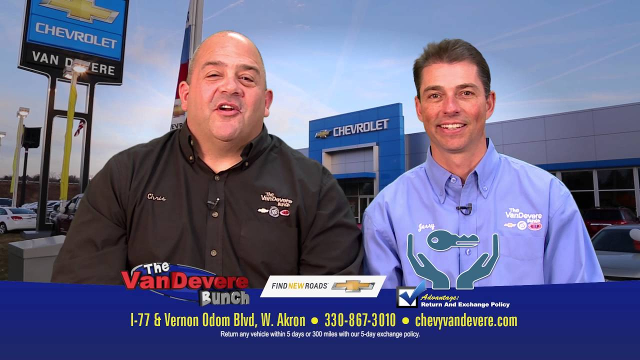 Vandevere Chevrolet Commercial Lease New Chevy Cruze