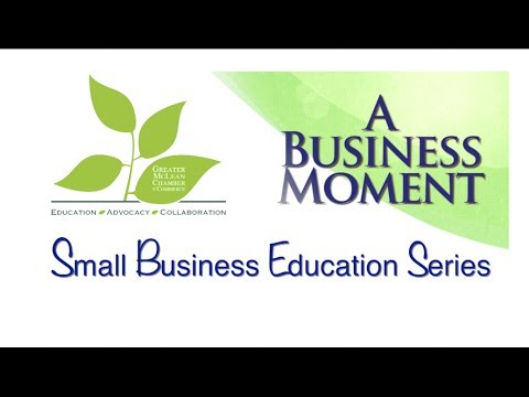 the Greater McLean Chamber of Commerce-Business Moment