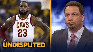Chris Broussard grades LeBron's performance in Cavs' Game 2 loss to the Warriors | NBA | UNDISPUTED