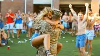 Soldier Homecoming Surprise Compilation -# 😢