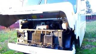 1997 Chevrolet Grumman Olsen Lunch Food Truck Engine Sound