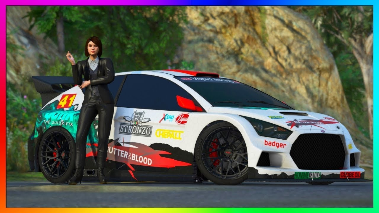 Gta 5 online new ford focus rs rally custom dlc car customization upgrades vapid flash gt