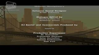 GTA San Andreas - End Credits