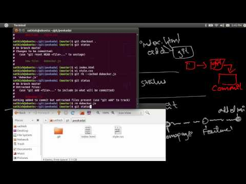 Git checkout - Discarding Changes - Back to Previous Commits - Tamil Tutorial