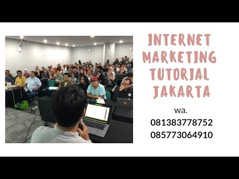 internet marketing tutorial jakarta 081383778752  I  085773064910 thumbnail