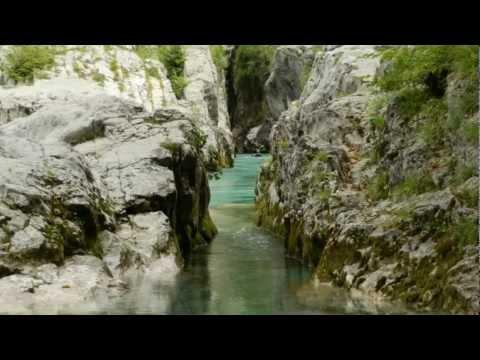 Izvir Soča ( Isonzo ), Velika korita Soča ( Isonzo )