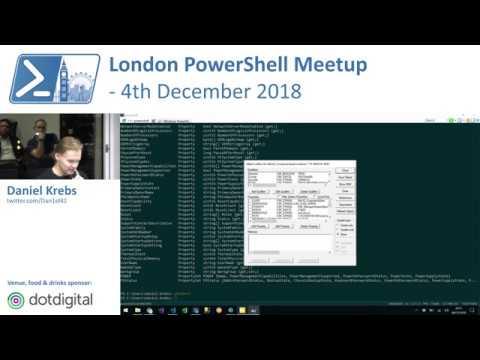 CIM/WMI Tips & Tricks   Daniel Krebs   London PowerShell Meetup