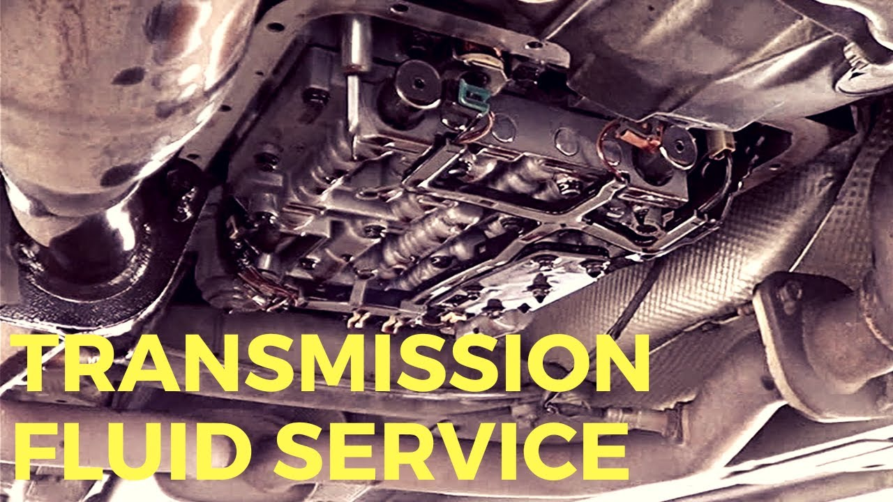 Holden VE Commodore - Transmission Fluid Service - YouTube