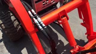 kubota bx bucket modification ii grapple
