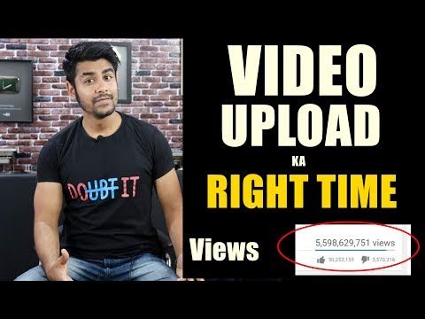 Best Time To Upload On YouTube | More Views and Subscribers