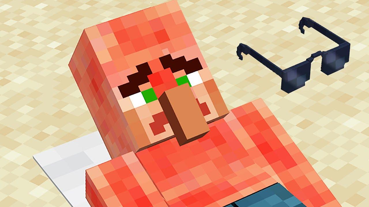 Minecraft mobs that didn't prepare for Summer