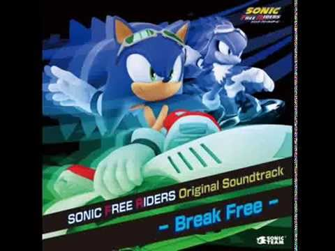 Sonic Riders: Zero Gravity - Catch Me If You Can Instrumental Full
