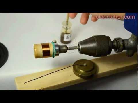 видео: Ремонт динамиков. Крепим гильзу и центрирующую шайбу.