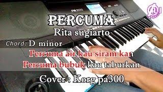 Download lagu PERCUMA - Rita sugiarto - Karaoke Dangdut Korg Pa300