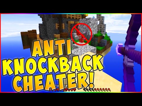 THE ANTI-KNOCKBACK HACKER! Minecraft ` MONEY WARS!