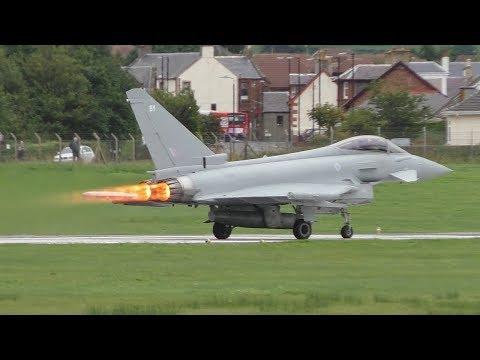 Prestwick Airport Plane Spotting 04/09/2017