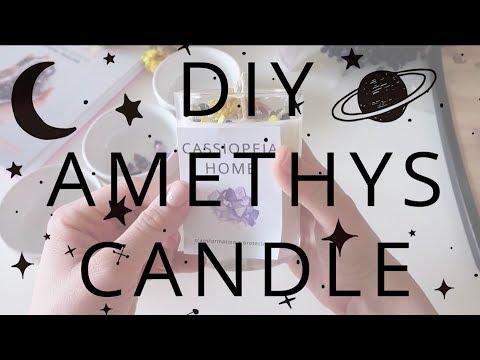 DIY AMETHYST CANDLE ~ DIY IDEAS