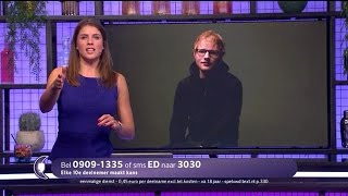 Maak kans om uniek mini-concert Ed Sheeran bij te wonen - RTL LATE NIGHT
