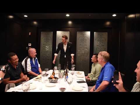 Jack Velour Performing for NBA Referees & MLB Umpires at Morton