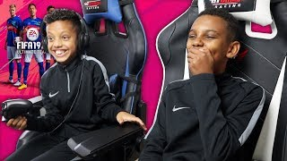 CAN I BEAT TASH BALLER? FIFA 19 BATTLE WITH THE SQUAD!
