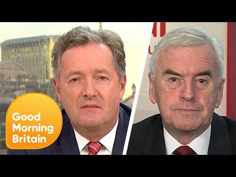 Piers and John McDonnell Clash Over Nuclear Weapons Debate | Good Morning Britain