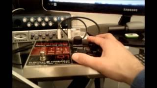 Bérurier noir boite a rythme - Electro Harmonix DRM16 Vintage drum machine